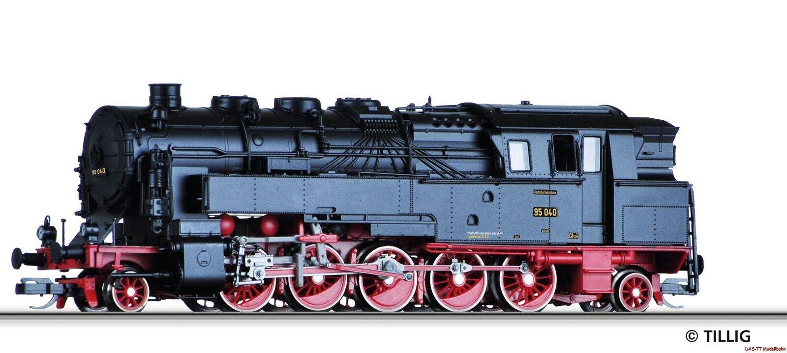TT Locomotiva br95 DRG EP. II Tillig 03012 NUOVO