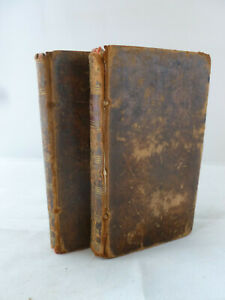1808-Reflections-on-the-Works-of-God-by-C-C-Sturm-2-Volumes-Leather