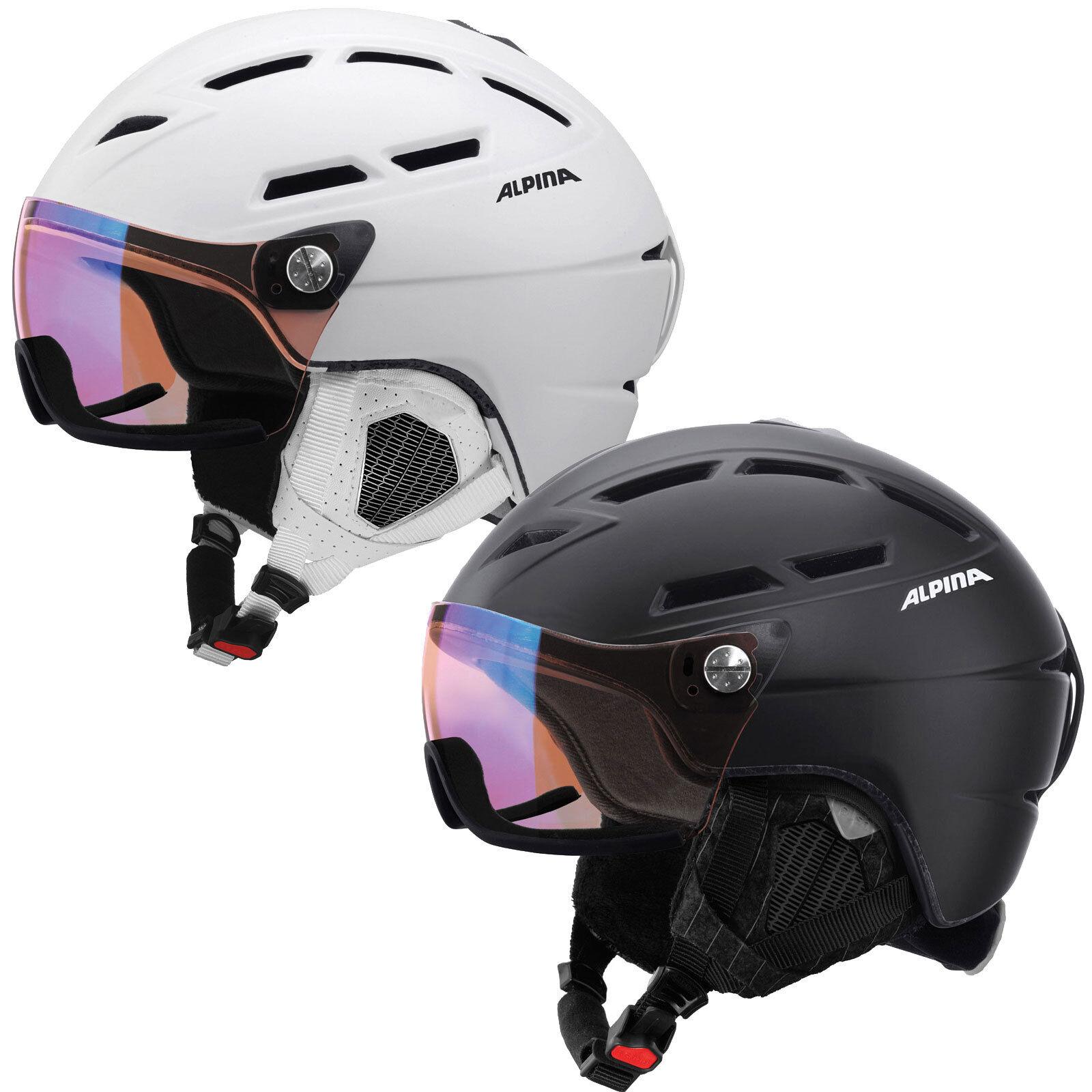 Alpina Griva Visor VHM Damen-Skihelm Damen-Skihelm Damen-Skihelm mit Visier Snowboardhelm Helm Protektion 9411ce