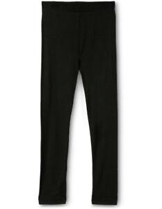 NEW-Flo-Dancewear-Plain-Leggings-Black