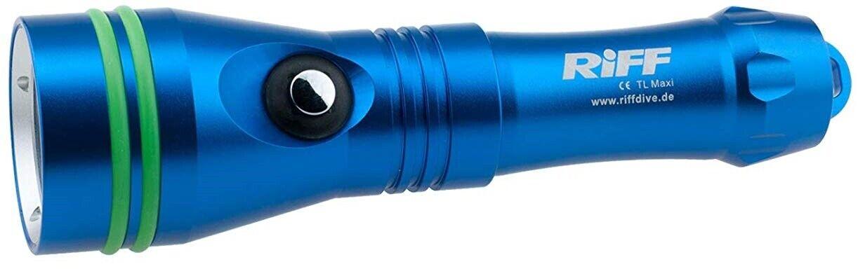 RIFF TL MAXI Tauchlampe Tauchlampe Tauchlampe mit 1200 Lumen und Akku NEU vom Fachhandel 693c81