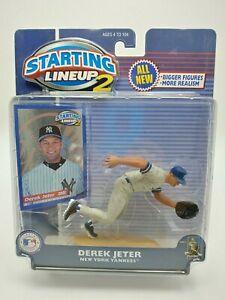 2001 Starting Lineup 2 Derek Jeter Hasbro NIP