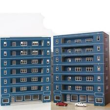 N Scale ( Apartment School Building ) 1:144 For Gauge Outland Model Train Layout