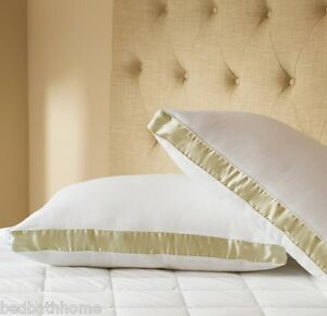 New Hotel Collection Luxury Gusseted Jumbo Pillow 2 Pack