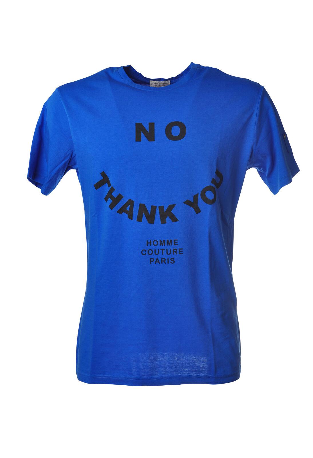 Daniele Alessandrini - Topwear-T-shirts - Man - bluee - 5290105G181953