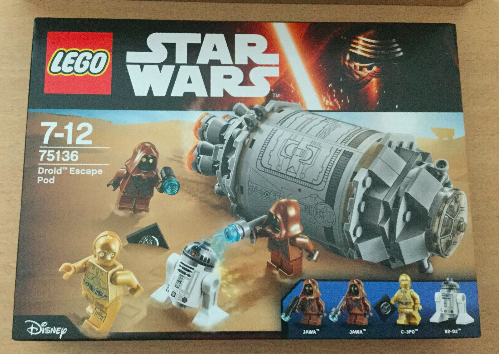 Neuf Scellee Set Lego Star Wars 75136 Droid Escape Pod Jawa Droid