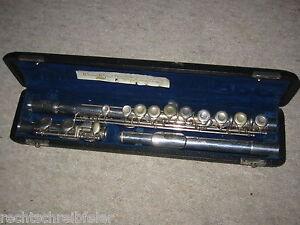 "Hors Flûte Traversiere ""werner Wetzel Berlin"" Flute Flute Flauta + Original Encadré-n Fr-fr Afficher Le Titre D'origine"