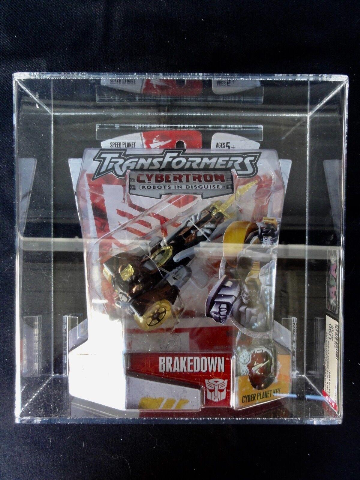 2005 personaggi Transformers autorità Cybertron ripartizione NASTRO SIGILLATO Nuovo di zecca in scatola sigillata scatola Nuovo di zecca con scatola