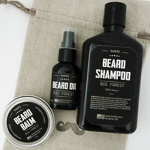big forest beard care kit beard shampoo beard oil. Black Bedroom Furniture Sets. Home Design Ideas