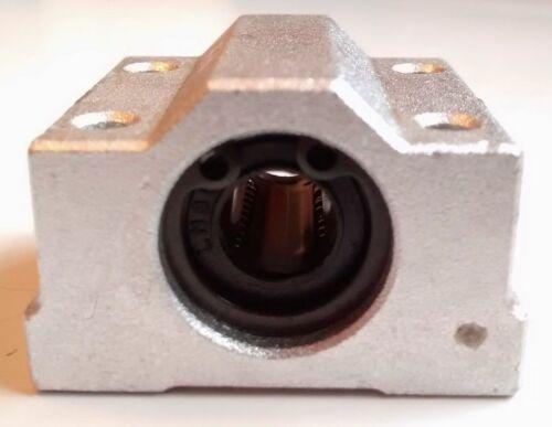 SC10UU Bearing /& Bracket CNC /& 3D Printer 10mm Linear Rail Shaft Rod LM10UU