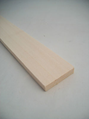 Basswood Lumber 1//4x1-3//4x24 model carving wood 1pc.