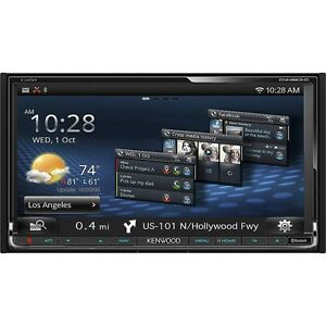 kenwood excelon dnn991hd double din blue tooth wi fi unit. Black Bedroom Furniture Sets. Home Design Ideas