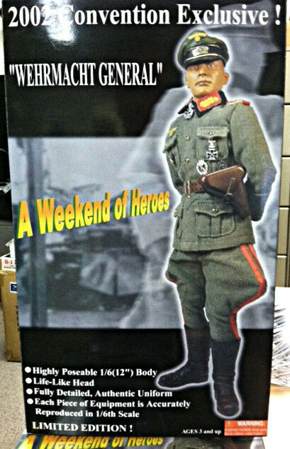 2002 W.O.H. Wehrmacht General 1 6 scale Figure
