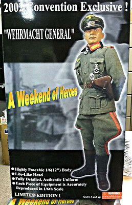 2002 W.O.H. Wehrmacht General 1/6 scale Figure