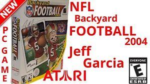 Vintage NFL BACKYARD FOOTBALL 2004 PC CD- ROM OLD GAME ...