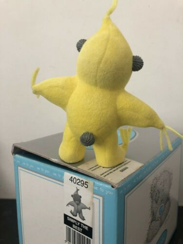 """Extrêmement rare /""""SIMPLY THE BEST/"""" Boxed Me to You Ours étoile jaune Costume Figurine"""