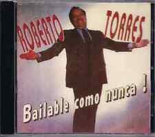 Salsa RARE CD Roberto Torres BAILABLE COMO NUNCA simulacion TODO ES PARA TI