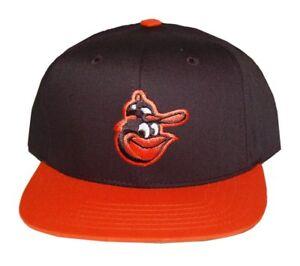 MLB-Baltimore-Orioles-American-Needle-Snapback-Hat-Cap-Black-Orange