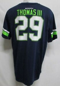 Seattle Seahawks NFL Men Navy Blue  29 Earl Thomas III Jersey T ... 32a0ec2cd