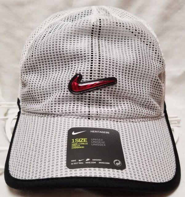 a16aadde89ffc Nike Zoom Spiridon Ultra DriFit Hat Cap Heritage 86 White Metallic ...