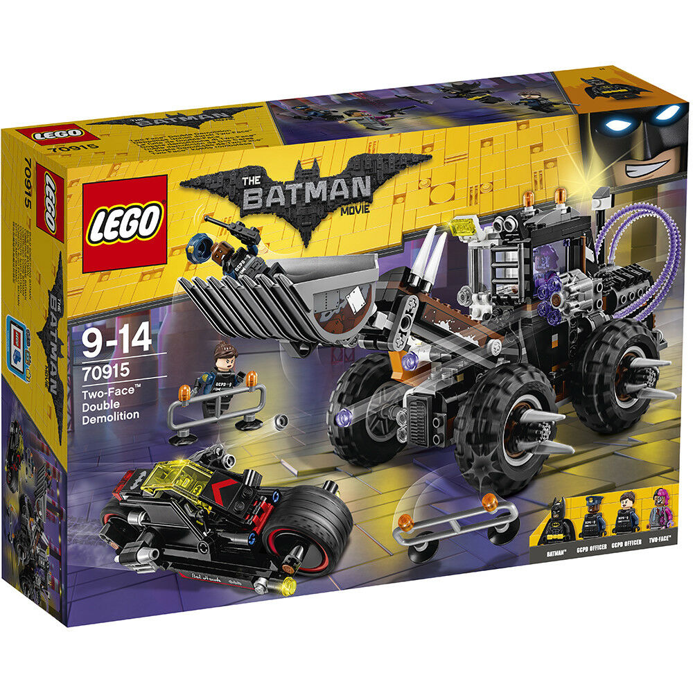 The LEGO Batman Movie 70915  Two-Face Double Demolition - Brand New