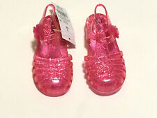 4e8596a862c9 Cat   Jack Jelly Sandals Shoes Toddler Girls S 5 6 Pink Cappi Glitter