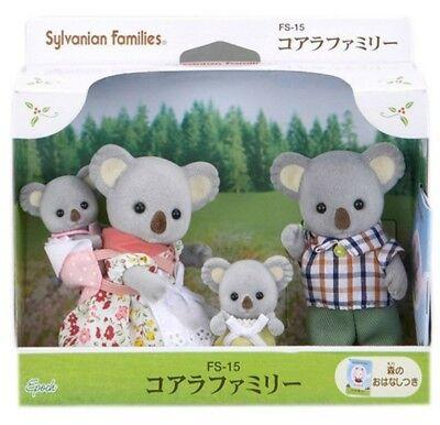 Sylvanian Families Koala family set FS-15 Epoch japan NEW epacket tracking