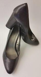 Bandolino-Shoes-Heels-Black-Textured-Womens-Size-11-M