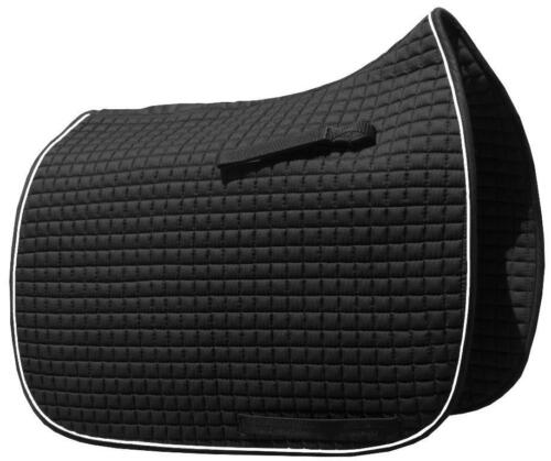 Black Dressage Saddle Pads by PRI Pacific Rim
