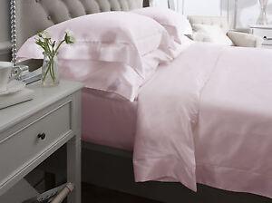 Jasmine-Silk-4-Teile-100-Charmeuse-Seide-Bettbezug-Set-Pink-Doppel