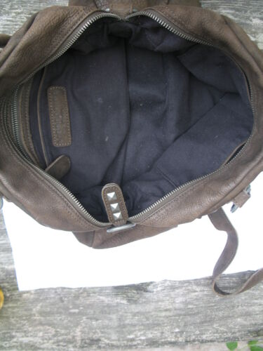 Berlin Orginal Nieten Braun Handtasche Leder Liebeskind Mit gFw1SxUqF