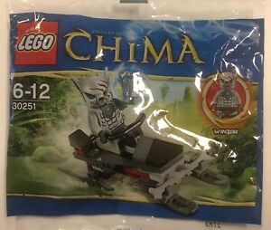 Lego-Chima-30251-WInzar-s-Pack-Patrol-Polybag-New-Unopened-Free-Post
