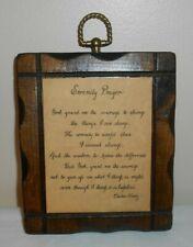 August Grove Pine Pallet Serenity Prayer Wall Décor For Sale Online Ebay