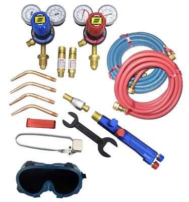 Medium Duty Oxy Acetylene Welding Kit with Bottom Entry Regulators Type |