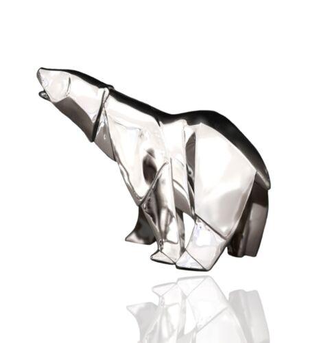 925 Sterling Silver Nomi Origami Polar Bear.