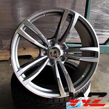 20 inch 437 Style Wheels Gunmetal Machined  Fits BMW 3 4 5 6 Series M3 M4 M5 M6