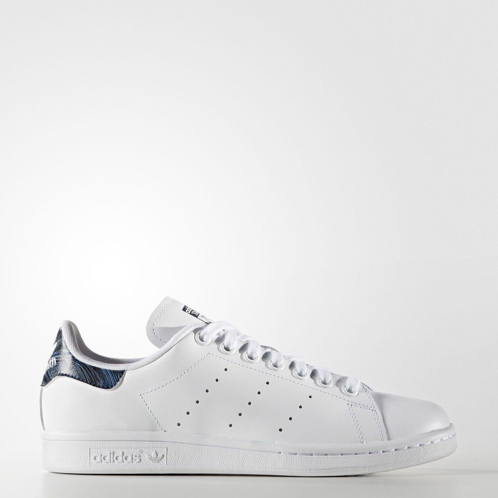 Adidas frauen stan smith (weiße schuhe, weiße / nacht / indigo) bb3009