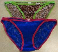 Women Set Of 2 Lace Bikini-nwt