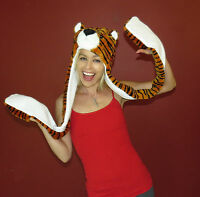 Tiger Animal Hat With Long Paws