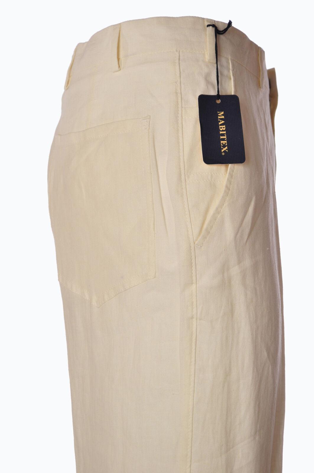 Mabitex  -  Pants - Male - White - 2924102A183833