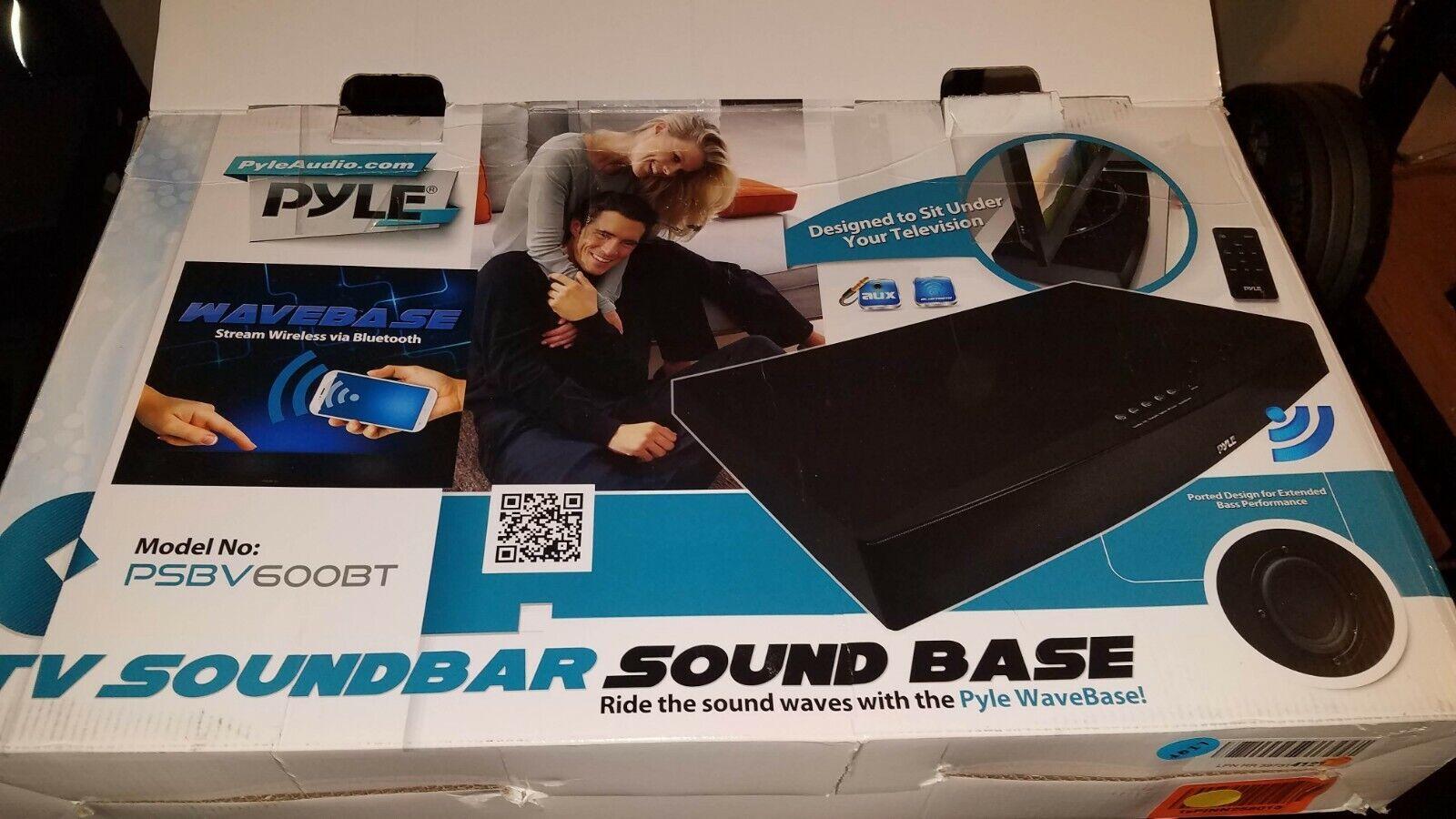 Pyle PSBV600BT blueetooth Tabletop Soundbar Digital Speaker AUX & RCA Input
