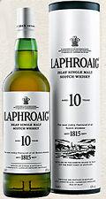 Laphroaig 10 anni, Islay, single malt whisky, 0,7 L.