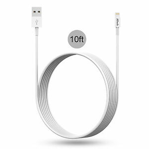10ft iphone 5 charger new iphone 6 5s se lightning usb data cable charger 10 ft 13341