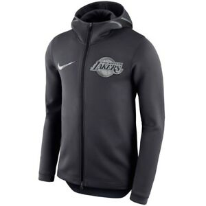 Details about LOS ANGELES LAKERS Showtime Hoodie Nike NBA Therma Flex On Court Mens S SMALL