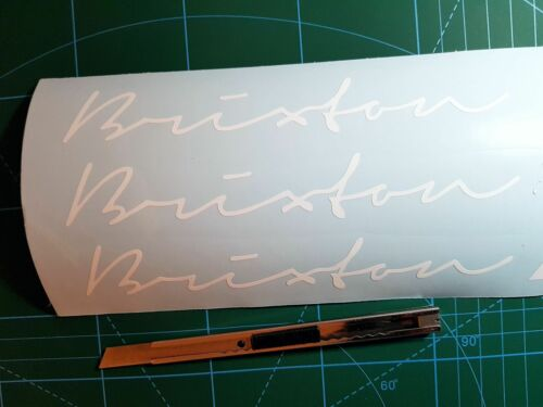 Brixton Stickers DECALS VINYL PEGATINAS AUFKLEBER AUTOCOLLANT 2pcs