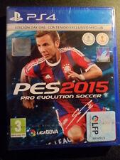 Pro Evolution Soccer 2015 PES Edición Day One PS4  Nuevo football PAL España