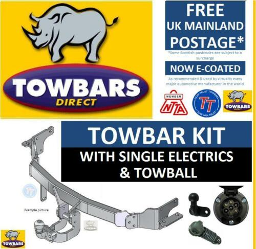 Towbar for Ford Escort Hatchback MK6 /& MK7 1992 to 2002 /& Cabriolet 1993 to 2000