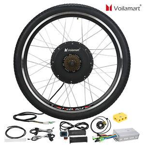 48V 1500W Rear Wheel Electric Bicycle Bike Motor Conversion Kit Hub Cycling