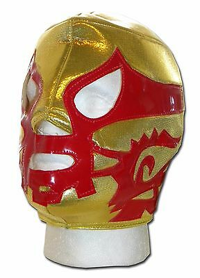 LUCHADORA CANEK GOLD MEXICAN LUCHA LIBRE LUCHADOR ADULT WRESTLING MASK