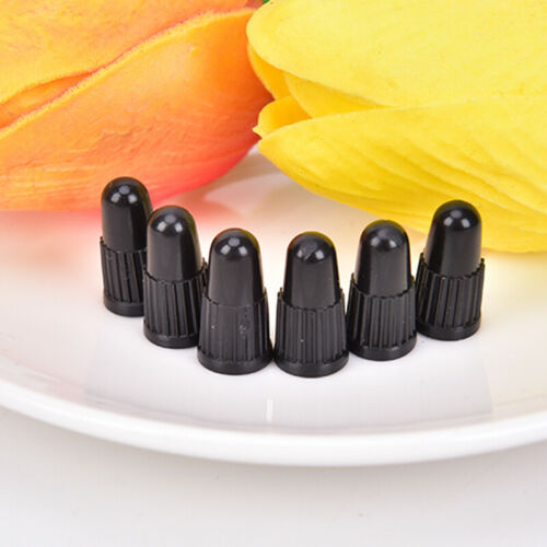 20X Bicycle Tire Valve Cap Professional Plastic Caps For Presta French Val FIN